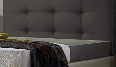 Cabeceros de color gris, combinaciones